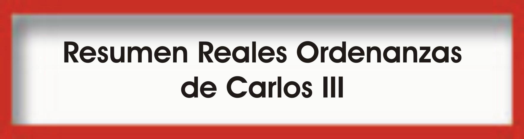 Doc. Resumen RR.OO Carlos III