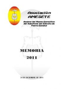 AMESETE. Memoria 2011. Formato A5