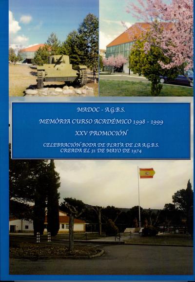 AMESETE. AGBS. Portada Memoria XXV Promoción