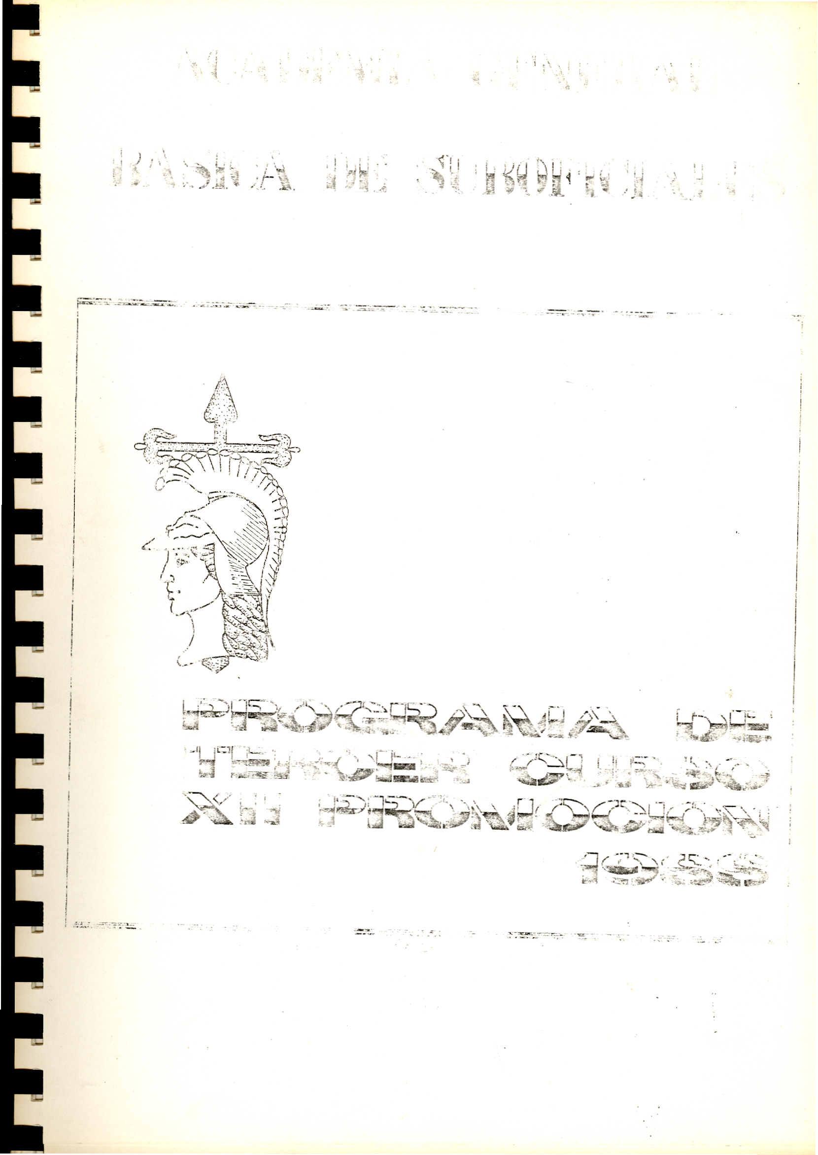 AMESETE. AGBS. Prog. Est. XII P. 3º C. 1988