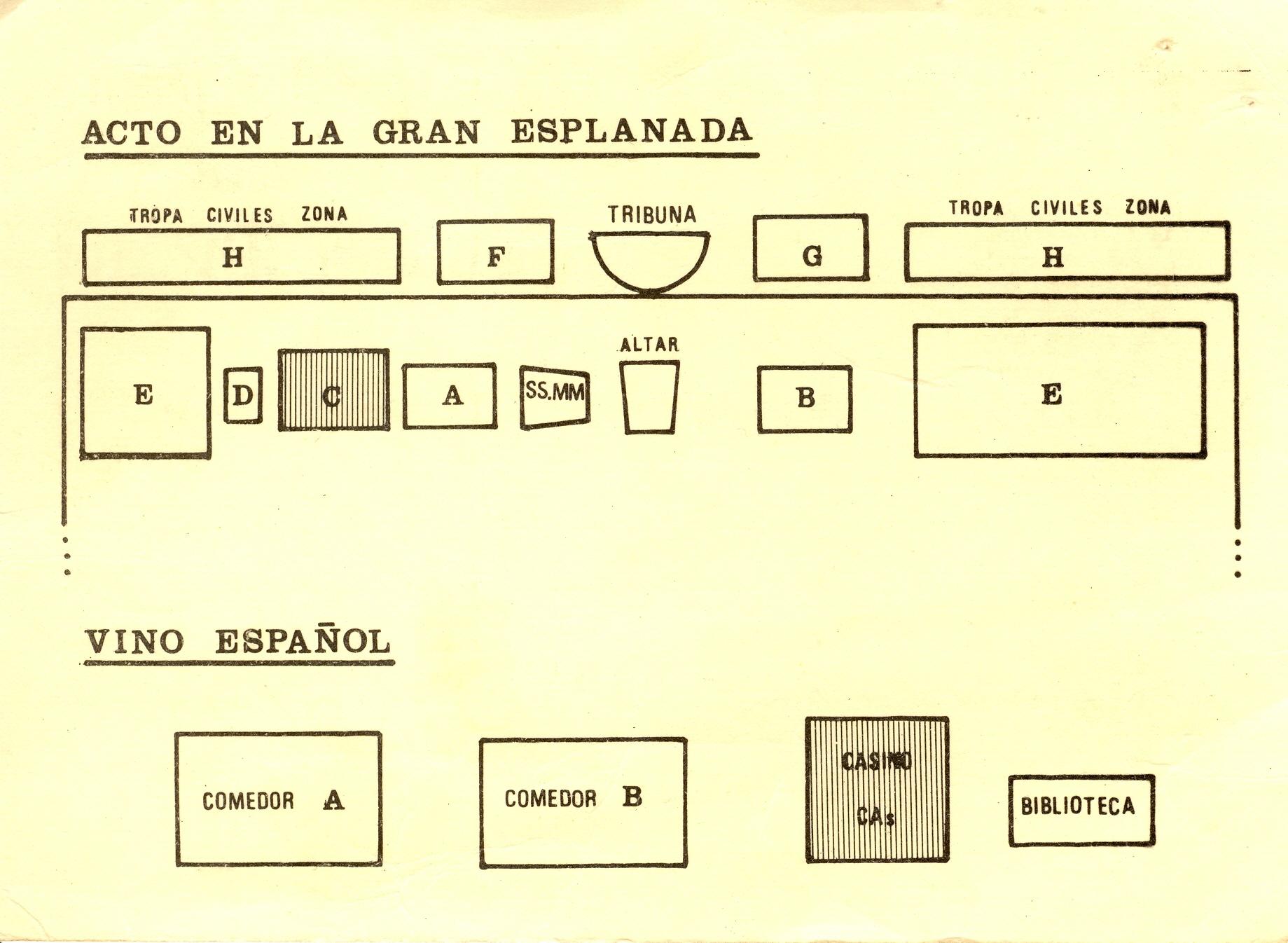 Invitaciones. Títulos Empleo 2ª Prom. 1978 02