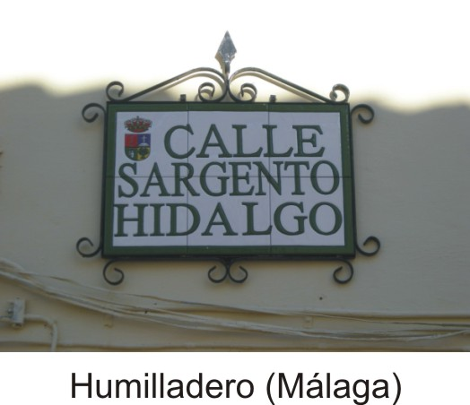 Placa calle Humilladero