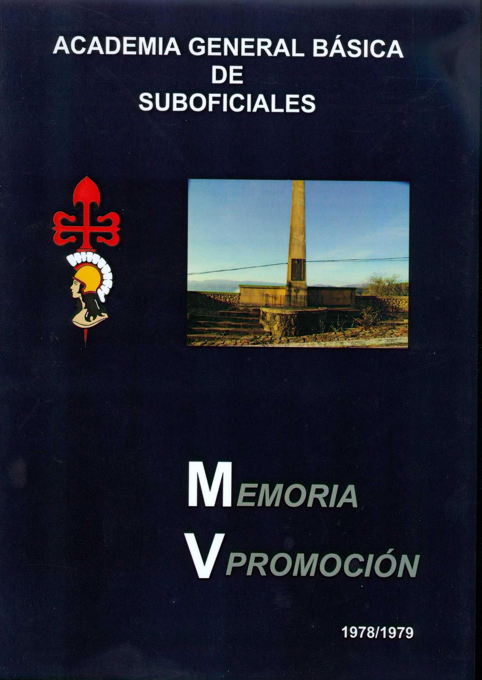 Portada Memoria V promoción 02