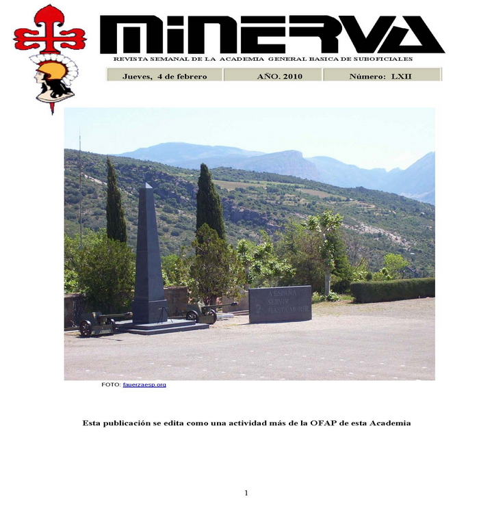 Revista MINERVA.RED núm. 62