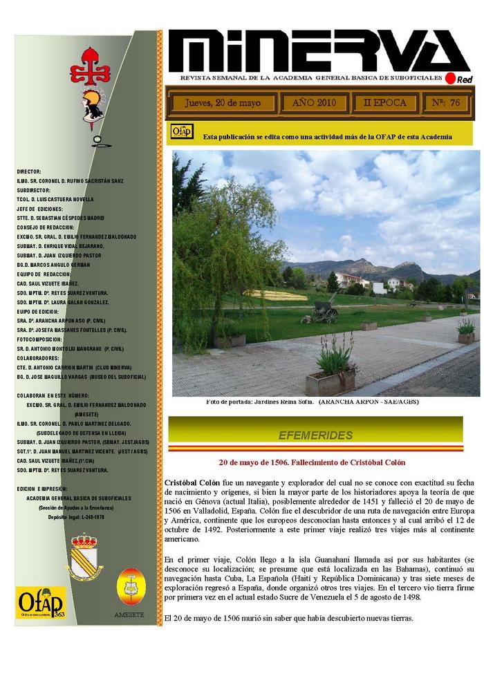 Revista MINERVA.RED núm. 76