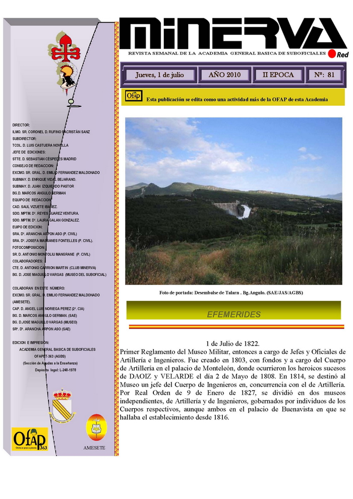 Revista MINERVA.RED núm. 81