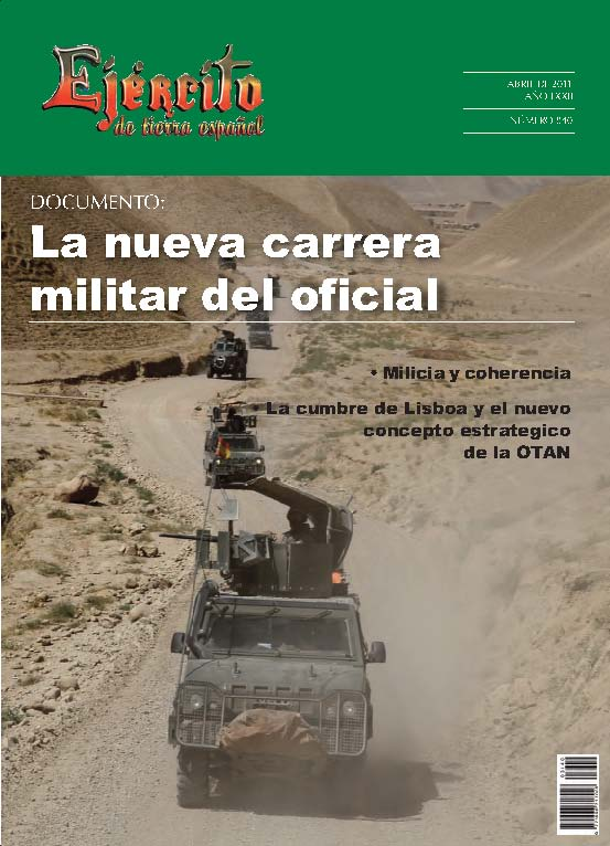 Revista Ejercito 840. Abril 2011