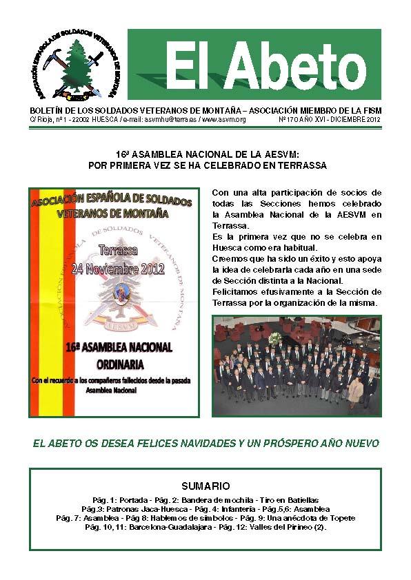 Revista EL ABETO núm. 170