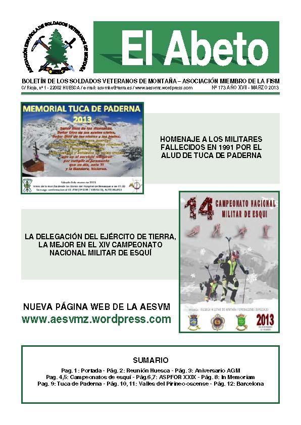 Revista digital EL ABETO núm. 173