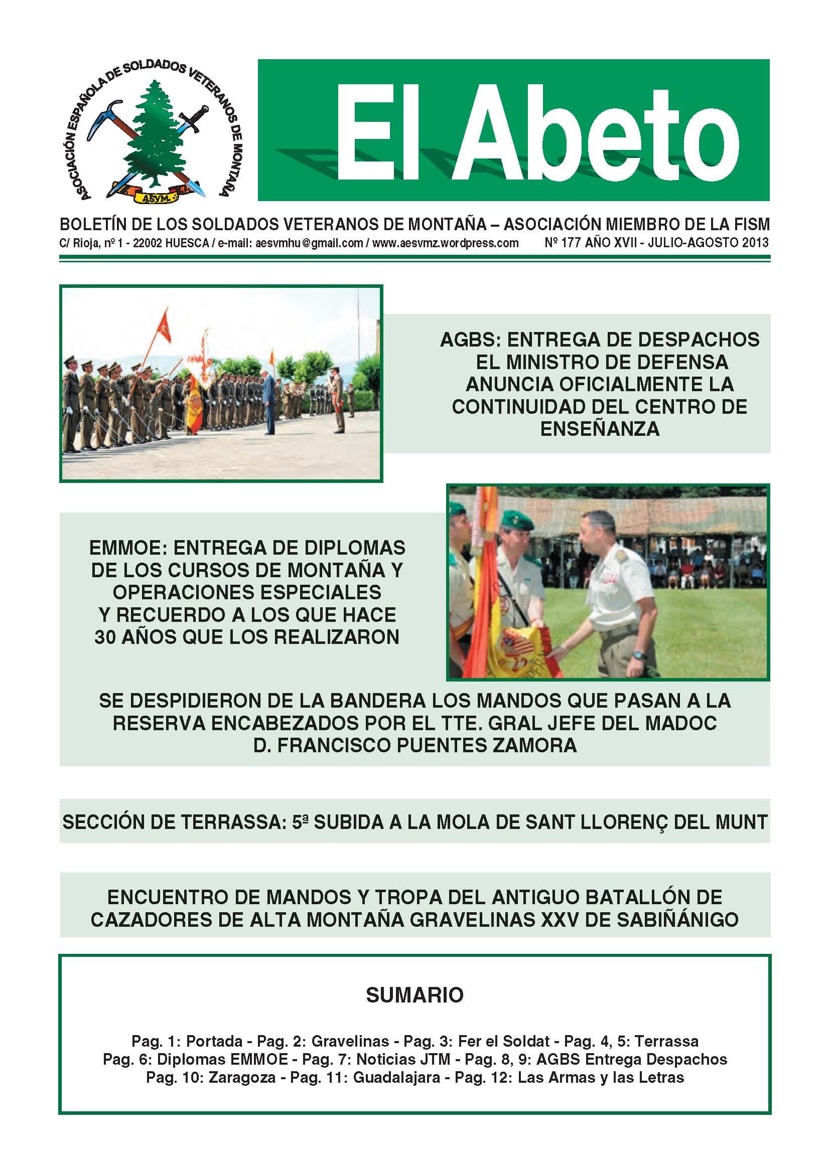 Revista EL ABETO núm. 177