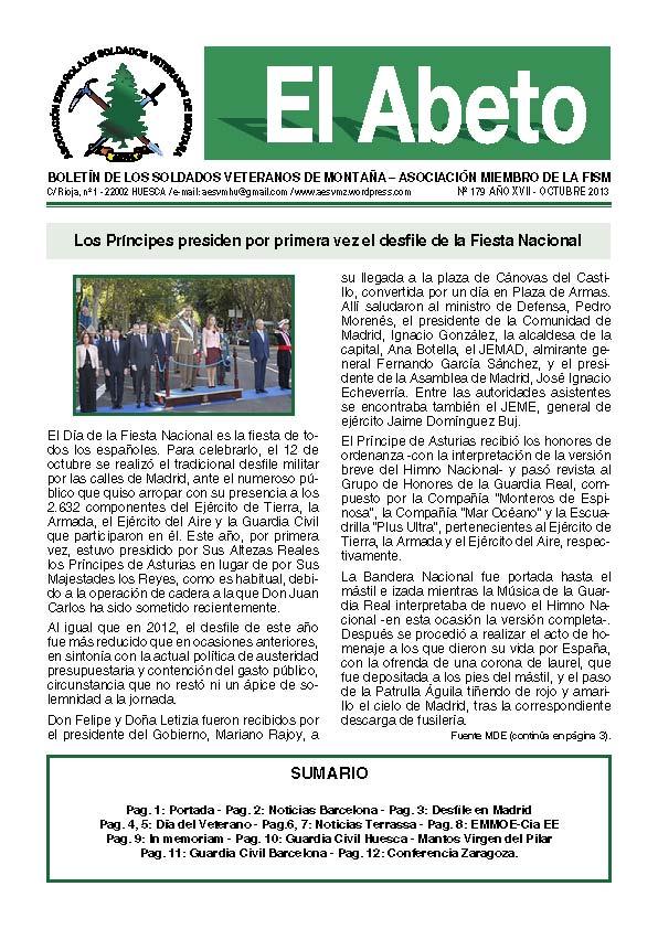 Revista EL ABETO núm. 179