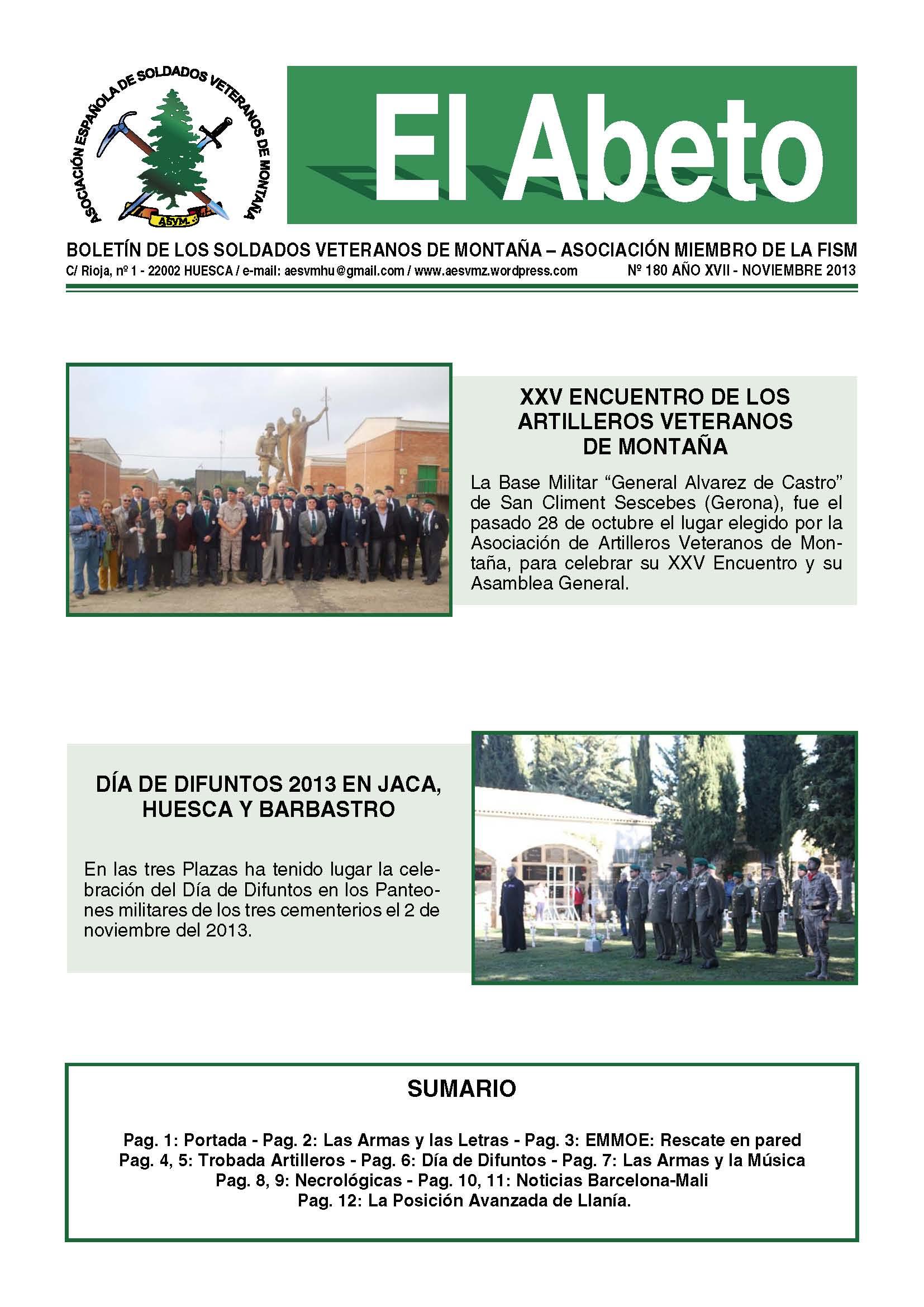 Revista EL ABETO núm. 180