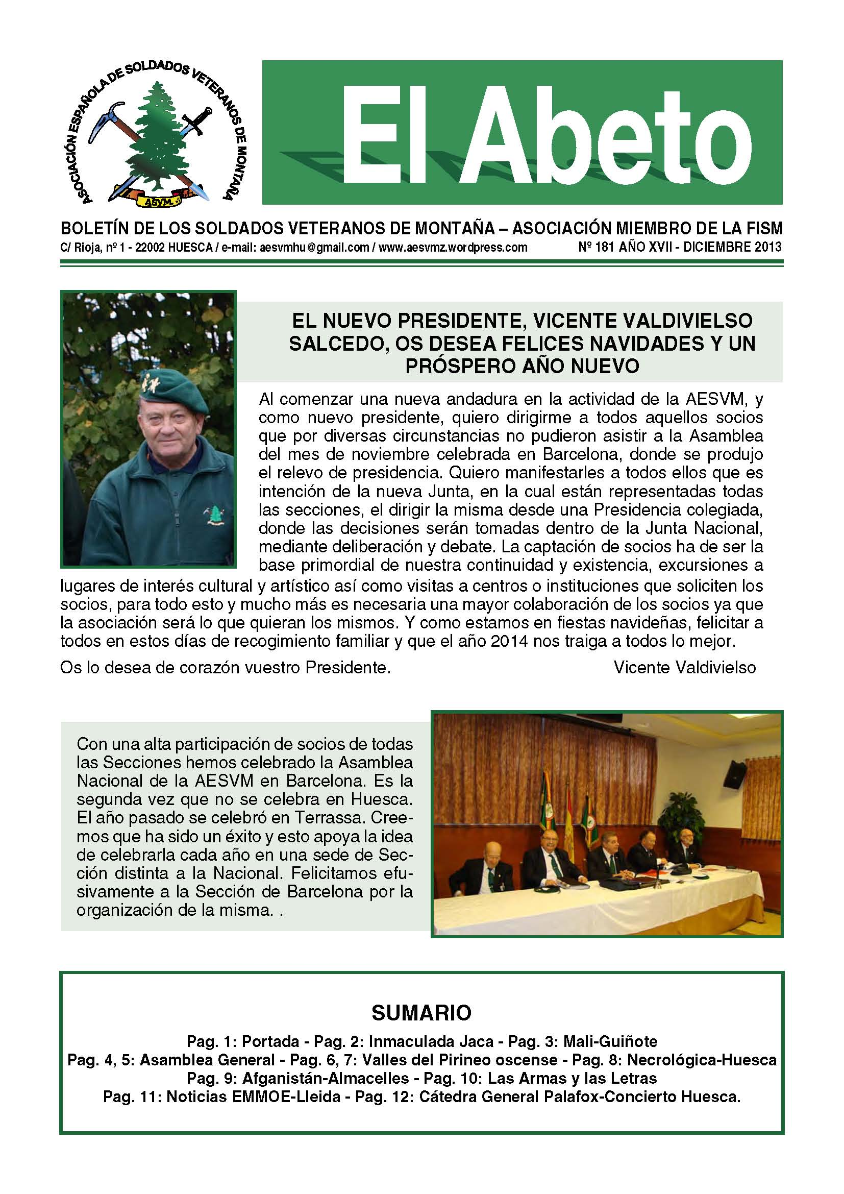 Revista EL ABETO núm. 181