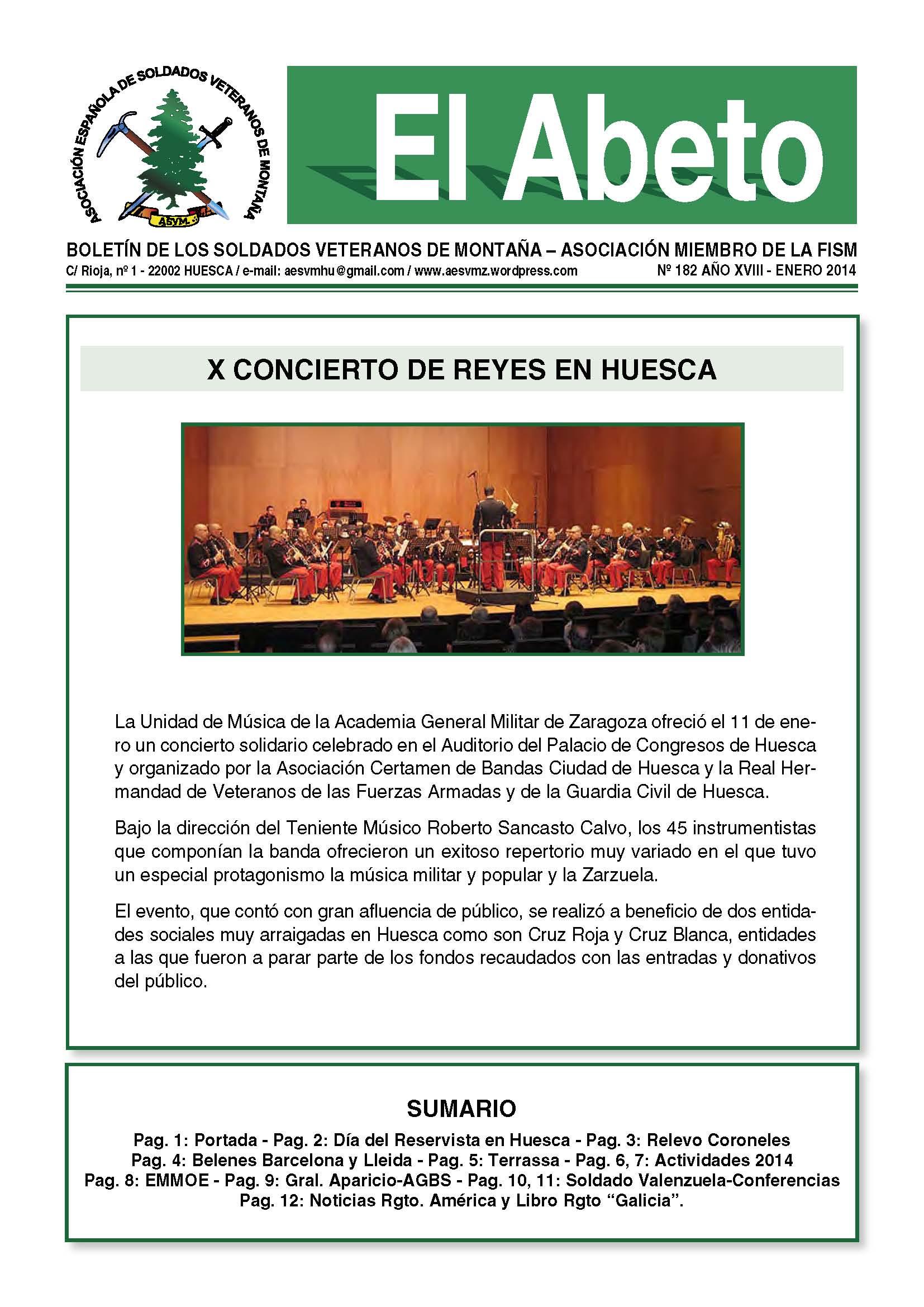 Revista EL ABETO núm. 182