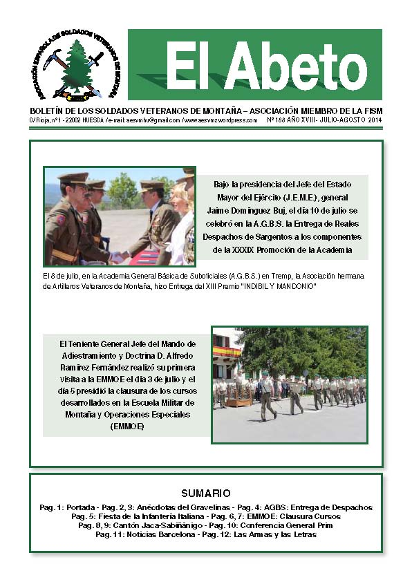 Revista digital EL ABETO nº 188