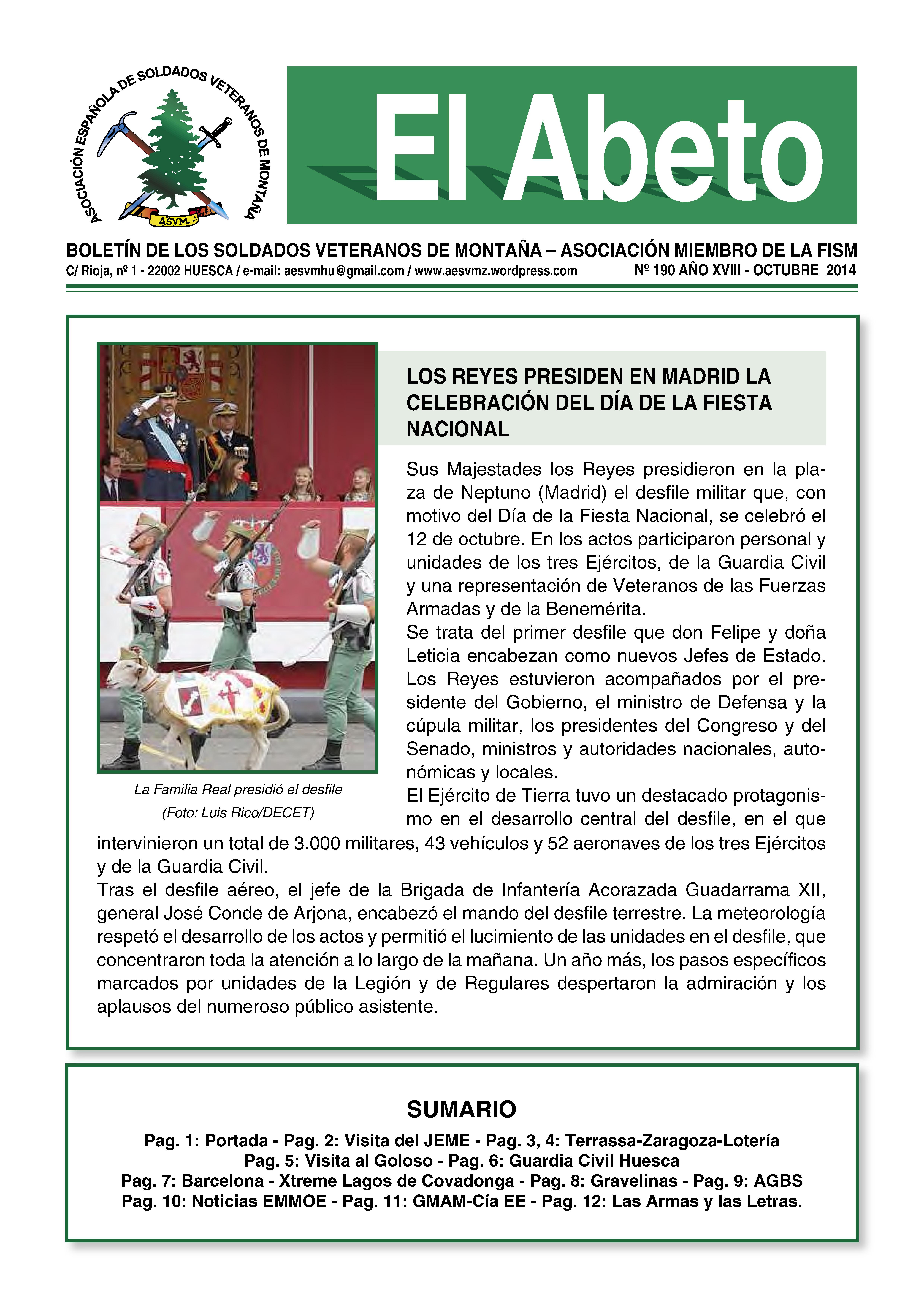 Revista EL ABETO núm. 190