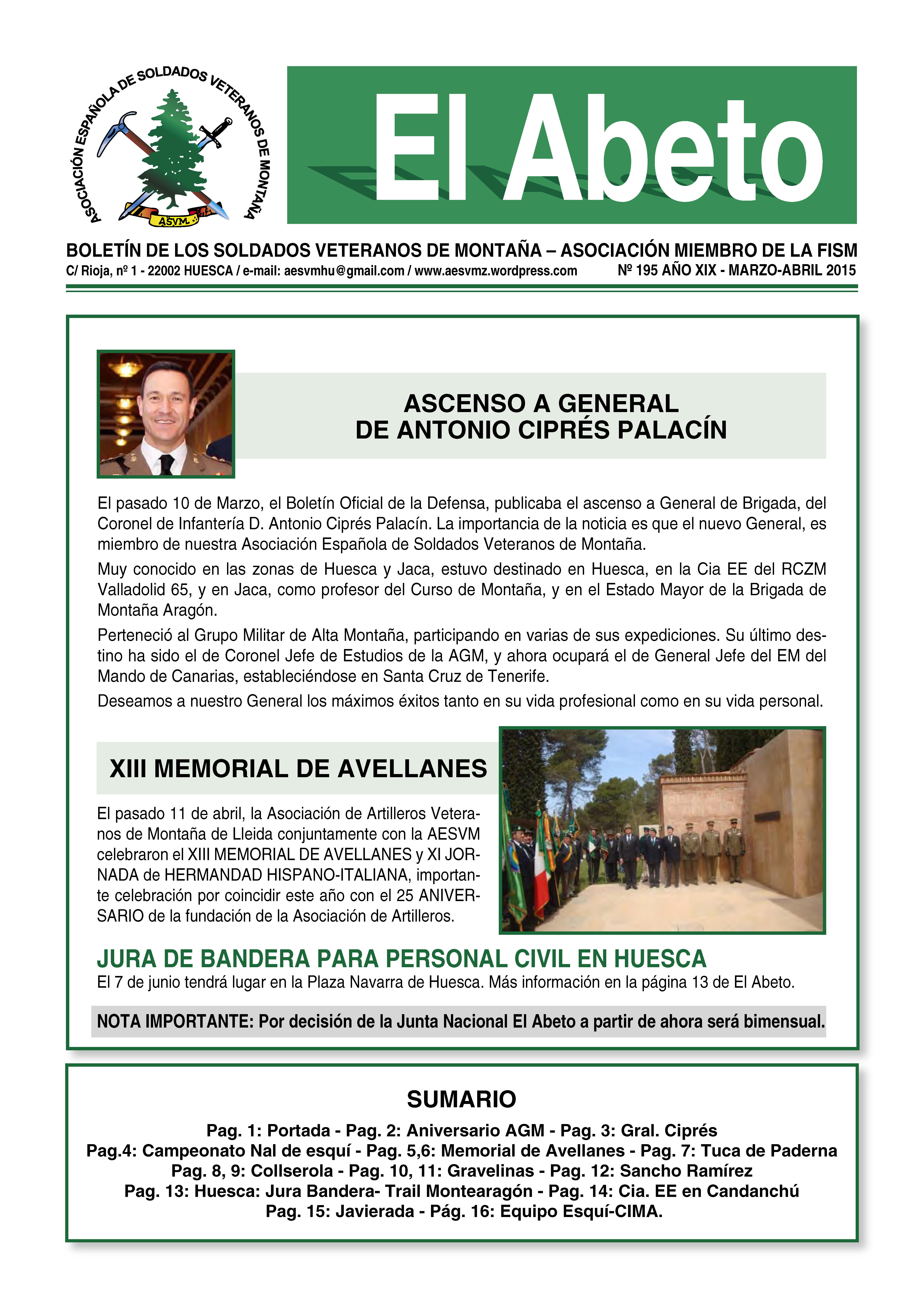 Revista EL ABETO 195