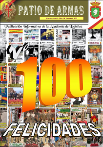 Revista PATIO DE ARMAS núm. 100