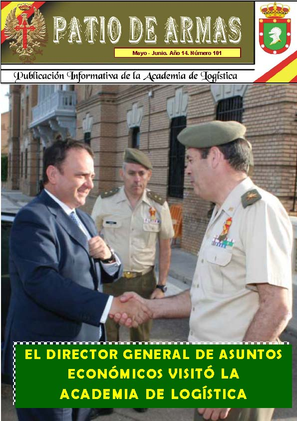 Revista PATIO DE ARMAS núm. 101