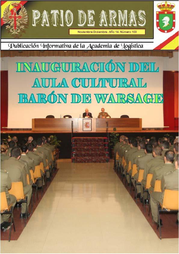 Revista PATIO DE ARMAS núm. 103