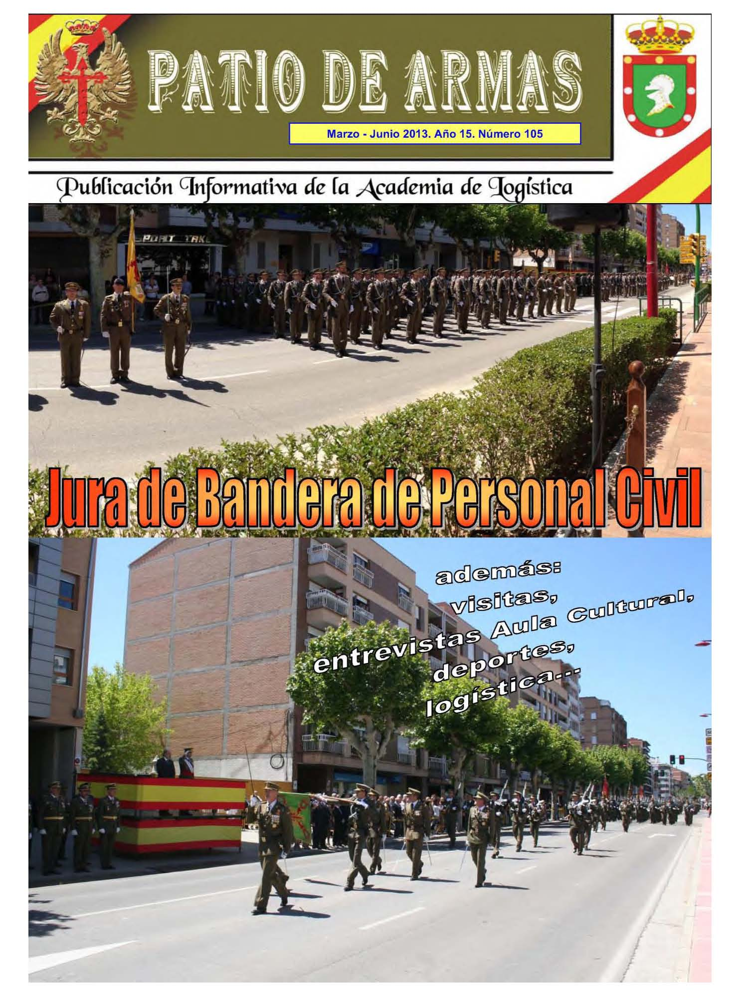 Revista PATIO DE ARMAS núm. 105