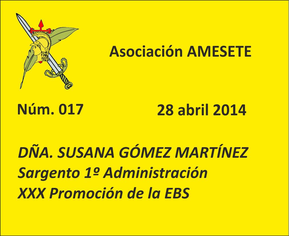 017. Susana Gómez Martínez