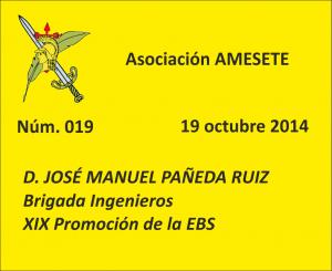 SUBOF. ESC. 019. Juan Manuel Pañeda Ruiz