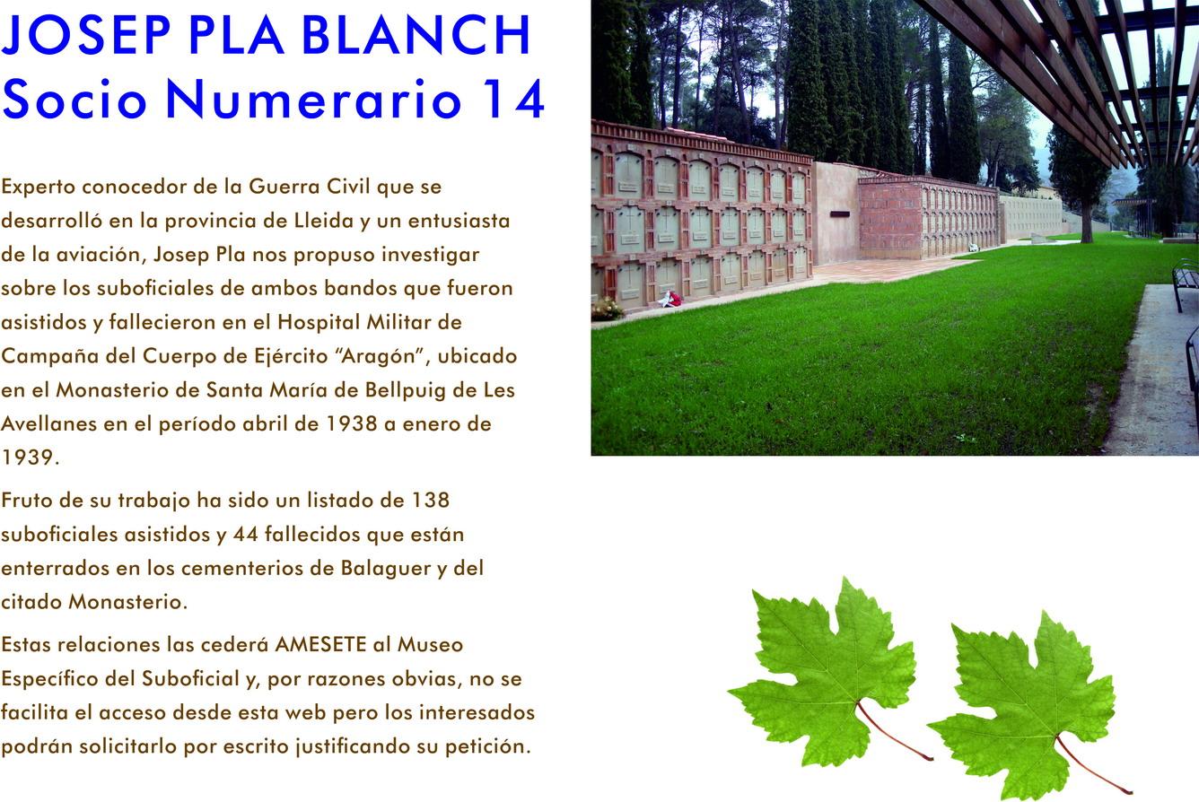 Monasterio de Les Avellanes. José Pla Blanch (SN-14)