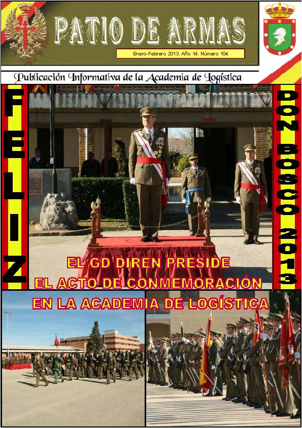Revista PATIO DE ARMAS núm. 104